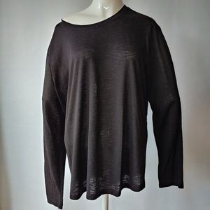 Oversize Long Sleeve Top Size XL